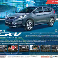 Read more about Honda CR-V 2015 Offer 21 Mar 2015