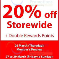 Read more about Howards Storage World 20% Off Storewide 27 - 29 Mar 2015