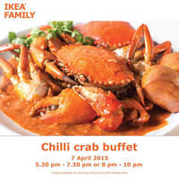 Read more about IKEA Chilli Crab Buffet Tickets Now Available 12 Mar 2015