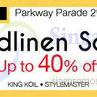 Read more about Isetan Bedlinen Sale @ Parkway Parade 23 - 29 Mar 2015