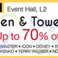 Read more about Isetan Bedlinen & Towel Sale @ Tampines Mall 8 - 14 Apr 2015