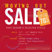 Read more about Fitflop Moving Out Sale @ Isetan Orchard 13 - 31 Mar 2015