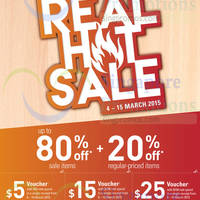 Read more about John Little 20% Off Real Hot Sale 4 - 15 Mar 2015