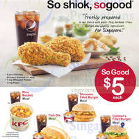 Read more about KFC $5 Meals 18 Mar 2015