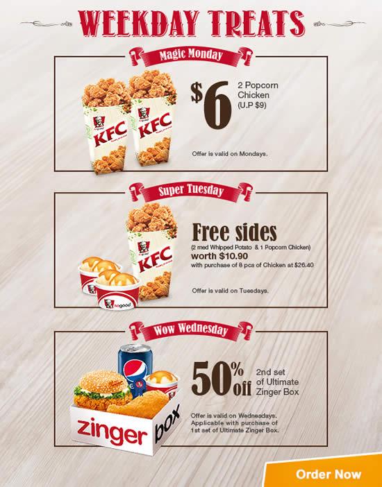 KFC Delivery 2 Mar 2015