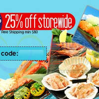 Kaiho Seafood 25% OFF (NO Min Spend) Coupon Code 5 Mar 2015