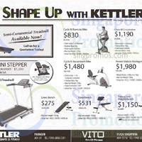 Read more about Kettler Fitness Equipment Offers 13 Mar 2015