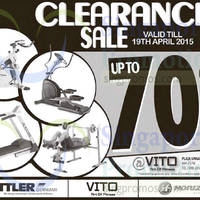 Kettler Clearance Sale 27 Mar - 19 Apr 2015