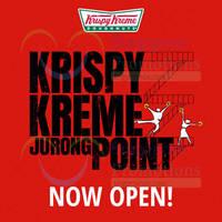 Read more about Krispy Kreme Now Open @ Jurong Point 20 Mar 2015