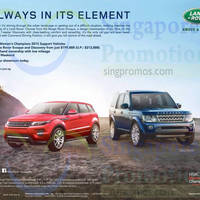 Read more about Land Rover Range Rover Evoque & Discovery Offers 21 Mar 2015