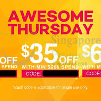 Read more about Lazada $15 to $60 OFF Storewide Coupon Codes 19 Mar 2015