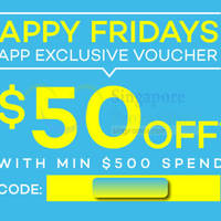 Read more about Lazada $50 OFF Storewide Coupon Code 20 Mar 2015
