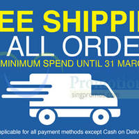 Read more about Lazada FREE Shipping On All Orders (NO Min Spend) 24 - 31 Mar 2015