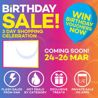 Read more about Lazada 3-Day Birthday Celebration Promotions 7 - 9 Apr 2015