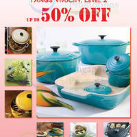 Read more about Le Creuset Up To 50% Off Sale @ Tangs Vivocity 2 - 15 Mar 2015
