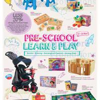 Isetan 20% Off Pre-School Learn & Play Promotion 13 - 26 Mar 2015