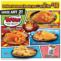 Read more about Long John Silver's $10 For Two Golden Battered Deals 14 Mar 2015