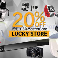 Read more about Lucky Store 20% OFF (NO Min Spend) 1-Day Coupon Code 17 Mar 2015