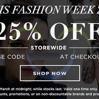 Read more about Luxola 25% OFF Storewide (NO Min Spend) Coupon Code 14 - 15 Mar 2015