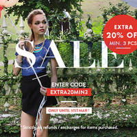 Read more about MDS Collections 20% OFF Storewide Promo 31 Mar 2015