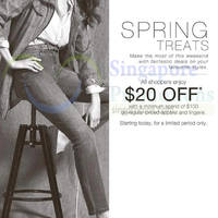 Read more about Marks & Spencer $20 Off Promotion 13 - 22 Mar 2015