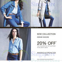 Marks & Spencer Buy Denim Jeans & Get 20% Off Tops 5 Mar 2015