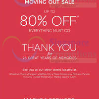 Read more about Marks & Spencer Centrepoint Moving Out SALE 6 - 29 Mar 2015