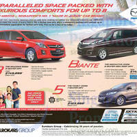 Read more about Mazda 2 Hatchback, 3 Sedan, Biante, 5 & 8 Seater MPV Offers 7 Mar 2015
