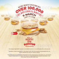Read more about (UPDATED) McDonald's FREE Egg McMuffins Giveaway @ Islandwide 9 Mar 2015