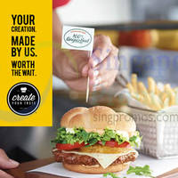 McDonald's NEW Create Your Taste Burger @ Jem 30 Mar 2015