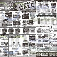 Read more about Mega Discount Store TVs, Gas Hobs & Other Appliances Offers 14 - 15 Mar 2015