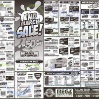 Mega Discount Store TVs, Gas Hobs & Other Appliances Offers 28 - 29 Mar 2015