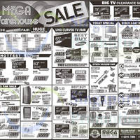 Read more about Mega Discount Store TVs, Gas Hobs & Other Appliances Offers 7 - 8 Mar 2015