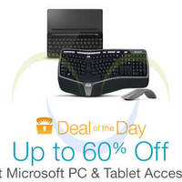 Read more about Microsoft Up To 60% Off PC & Tablet Accessories 24hr Promo 24 - 25 Mar 2015