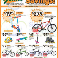 Giant Hypermarket Apparels, Home Appliances & Bicycles Offers 6 - 19 Mar 2015