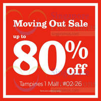 New Look Moving Out Sale @ Tampines 1 27 Mar - 15 Apr 2015