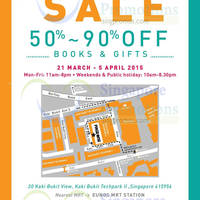 Read more about Page One Warehouse Moving Out Sale 21 Mar - 5 Apr 2015