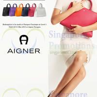 Read more about Aigner Spend $1500 & Get $200 Voucher @ Paragon 7 - 31 Mar 2015