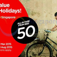 Read more about Air Asia From $50 (all-in) Promo Fares 16 - 22 Mar 2015