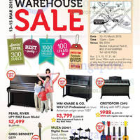 Read more about Cristofori Warehouse Sale @ Bedok 13 - 15 Mar 2015