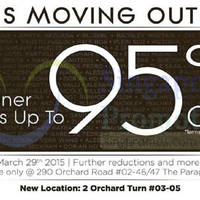 Read more about Pois Moving Out SALE @ Paragon 13 - 29 Mar 2015