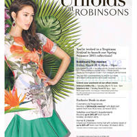 Read more about Robinsons Spring Unfolds Promotions 20 - 22 Mar 2015