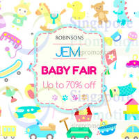 Read more about Robinsons Jem Baby Fair 10 - 22 Mar 2015