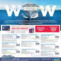 Read more about Royal Caribbean Free Luggage Promotion For HSBC Cardmembers 12 - 15 Mar 2015