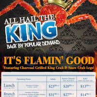 Read more about Sakura Crab Buffet (ft Charcoal-grilled King Crab & Snow Crab Legs) is BACK 20 Mar 2015