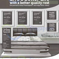 Read more about Sealy Posturepedic Mattresses Offers 20 Mar 2015