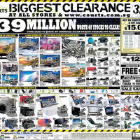 Read more about Courts Biggest Clearance Offers 21 - 23 Mar 2015