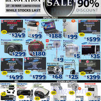 Audio House Electronics, TV, Notebooks & Appliances Offers @ Liang Court 27 - 30 Mar 2015