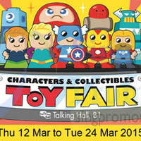 Takashimaya Characters & Collectibles Toy Fair 12 - 24 Mar 2015