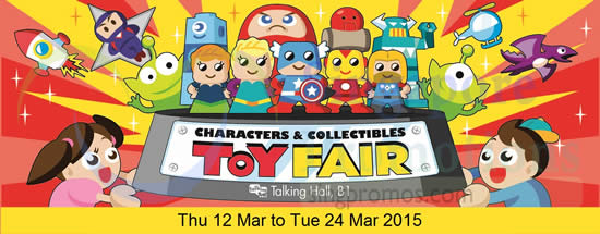 Takashimaya Toy Fair 4 Mar 2015